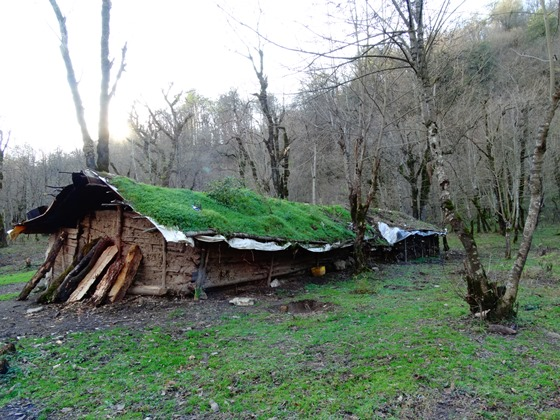 Fin-Deh wooden cottage, Gishar-Kuh Peak Climbing